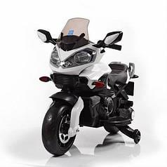 Детский мотоцикл Bambi белый 3630