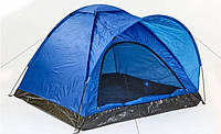 Палатка 4х местная СИНЯЯ № 3-4