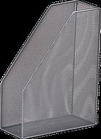 Лоток вертикальный Buromax металлический серебристый