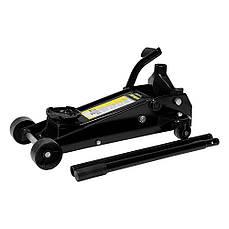 Домкрат гидравлический подкатной с педалью 3.5т 145-500мм Sigma 6104061