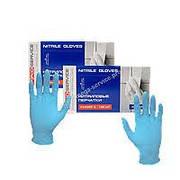 PRO Optimum Рукавички нітрилові сині розмір S,M.L 100шт/уп 10уп/ящ