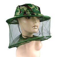 Шляпа с антимоскитной сеткой. Защита от всех видов насекомых и пчел.