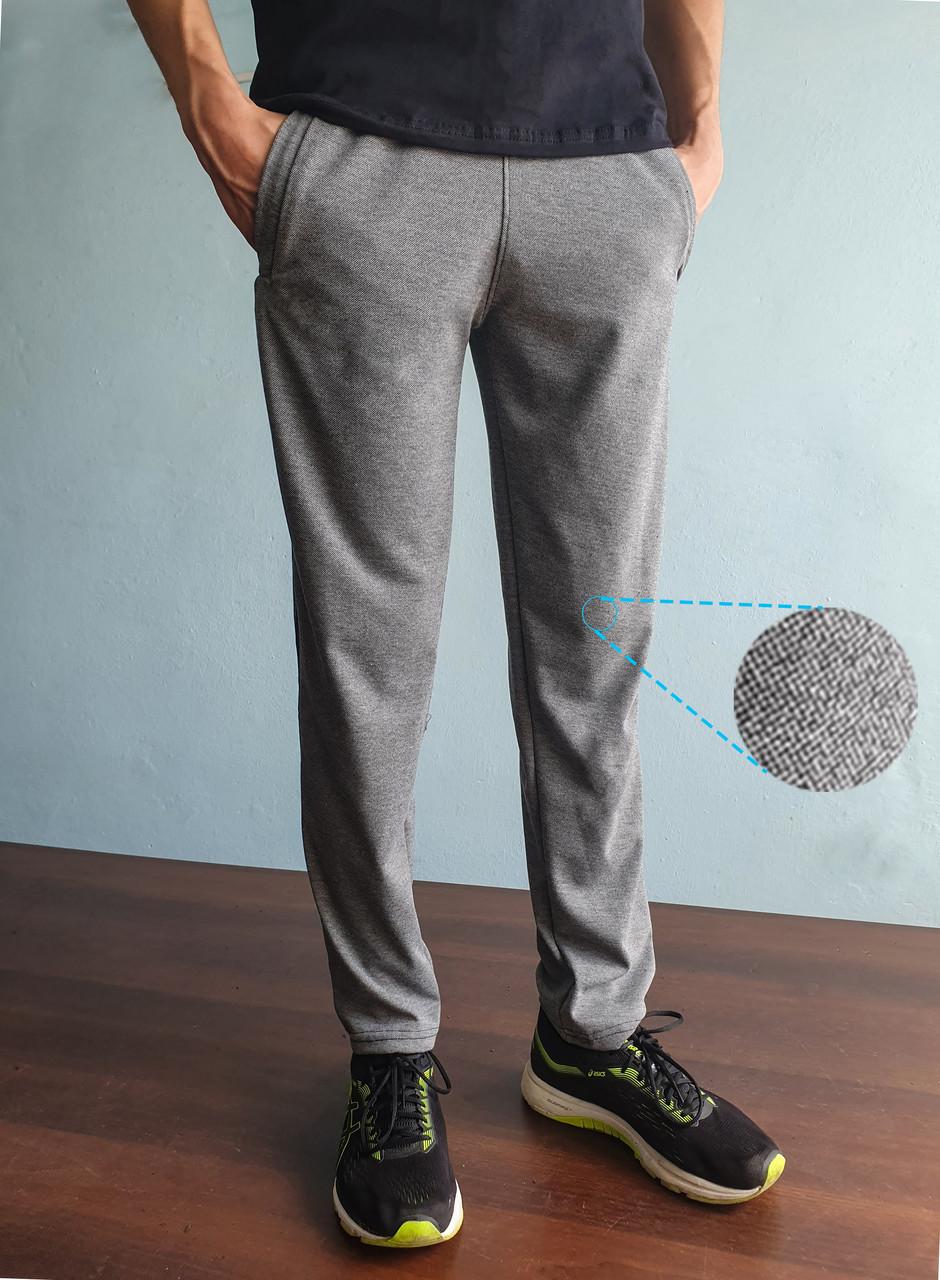 Трикотажні спортивні штани тканина лакоста