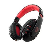 Наушники OVLENG V8 Bluetooth Black-Red
