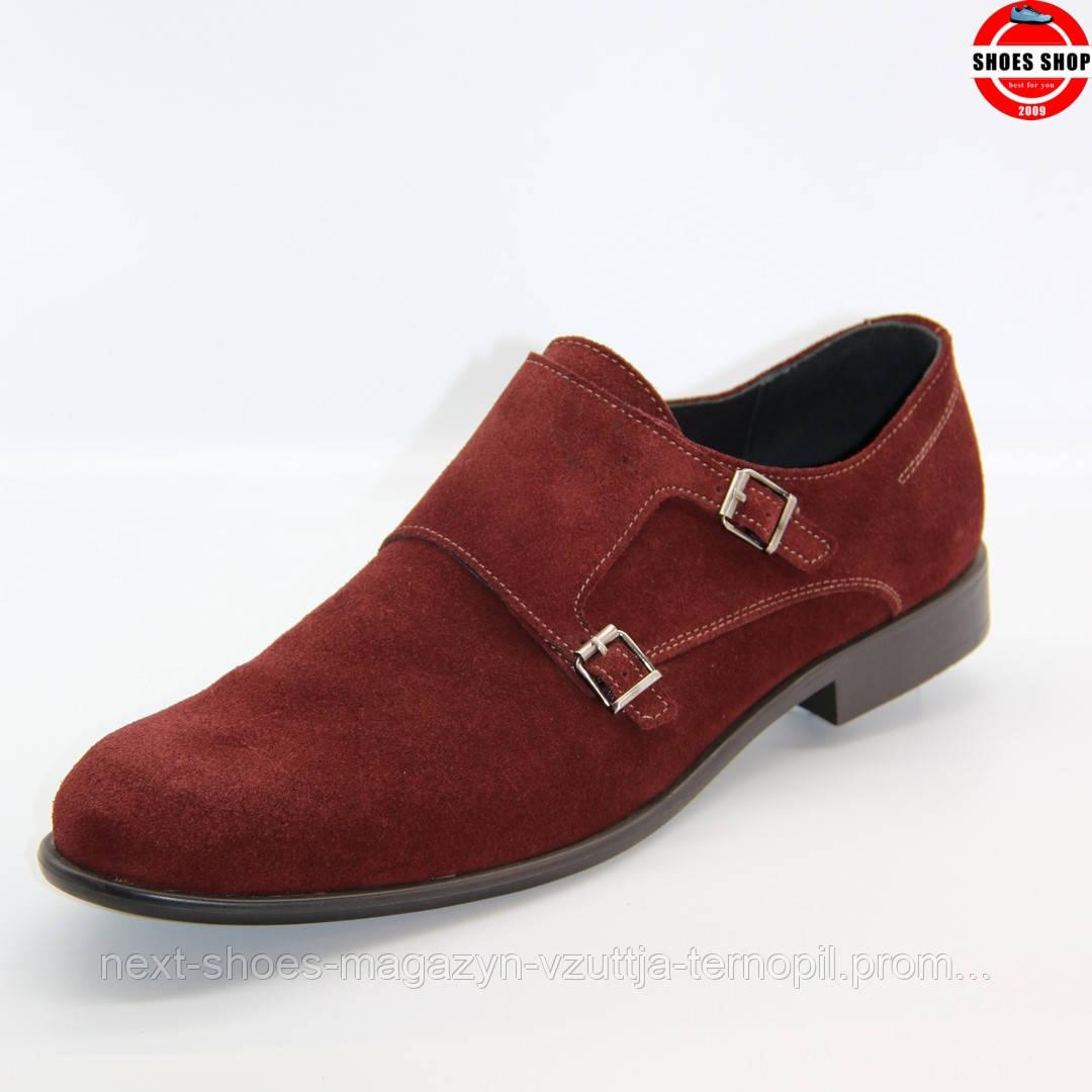 Чоловічі дерби TAPI (Польща) червоного кольору. Дуже комфортні та красиві. Стиль - Джонні Депп