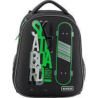 Рюкзак школьный каркасный, спинка ортопед.вентил., 18л, 995гр, Kite 731-2 Skateboard (K19-731M-2)