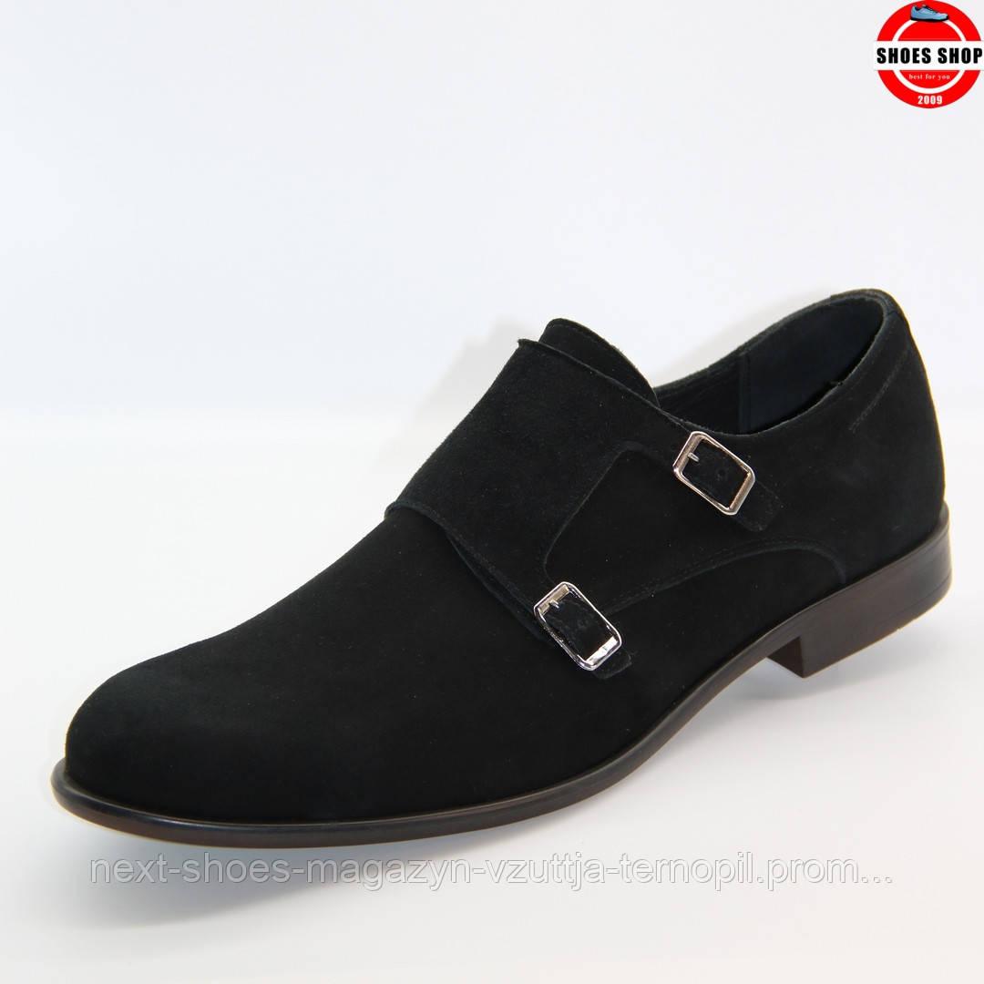 Чоловічі дерби TAPI (Польща) чорного кольору. Дуже комфортні та красиві. Стиль - Джонні Депп