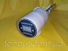 """Тэн в алюминиевую батарею с цифровым терморегулятором левая резьба 1.2 кВт./1"""" дюйм /L-430мм. Украина GREPAN"""