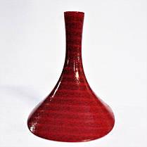 Каблук женский пластиковый 7050 красный  р.1-3  h-7,0-7,5 см., фото 3