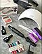 Стартовый набор для маникюра,гель лак,для ногтей,лампа,фрезер,топ база, фото 3