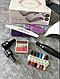 Стартовый набор для маникюра,гель лак,для ногтей,лампа,фрезер,топ база, фото 4