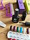 Стартовый набор для маникюра,гель лак,для ногтей,лампа,фрезер,топ база, фото 6