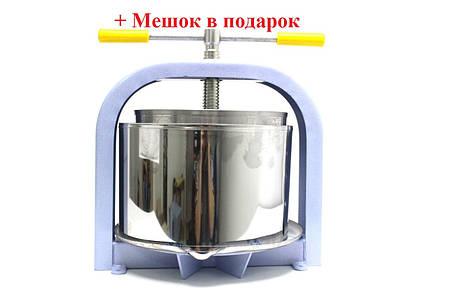 Пресс для сока ЛАН 15 л NEW  (мешок в комплекте), фото 2