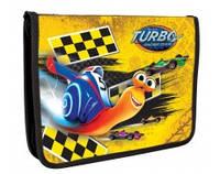"""Папка для тетрадей пластиковая на молнии, """"Turbo"""" TU06321"""