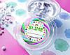 Круглі наклейки для слайм (стікери) 12 шт., На баночку з слайм, підписати слайм, slime labels