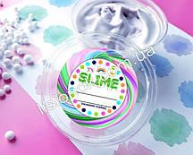 Круглые наклейки для слаймов (стикеры) 12 шт., на баночку со слаймом, подписать слайм, slime labels