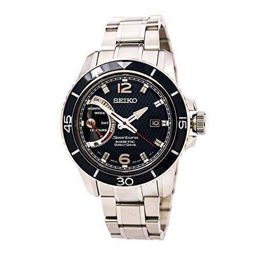 Мужские часы Seiko Sportura Kinetic Direct Drive SRG017Р1