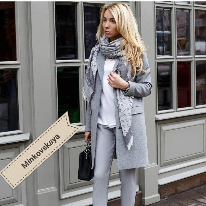 Женское модное пальто  ММ233
