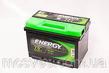 Акумуляторна батарея ENERGY 6СТ-75 (0)