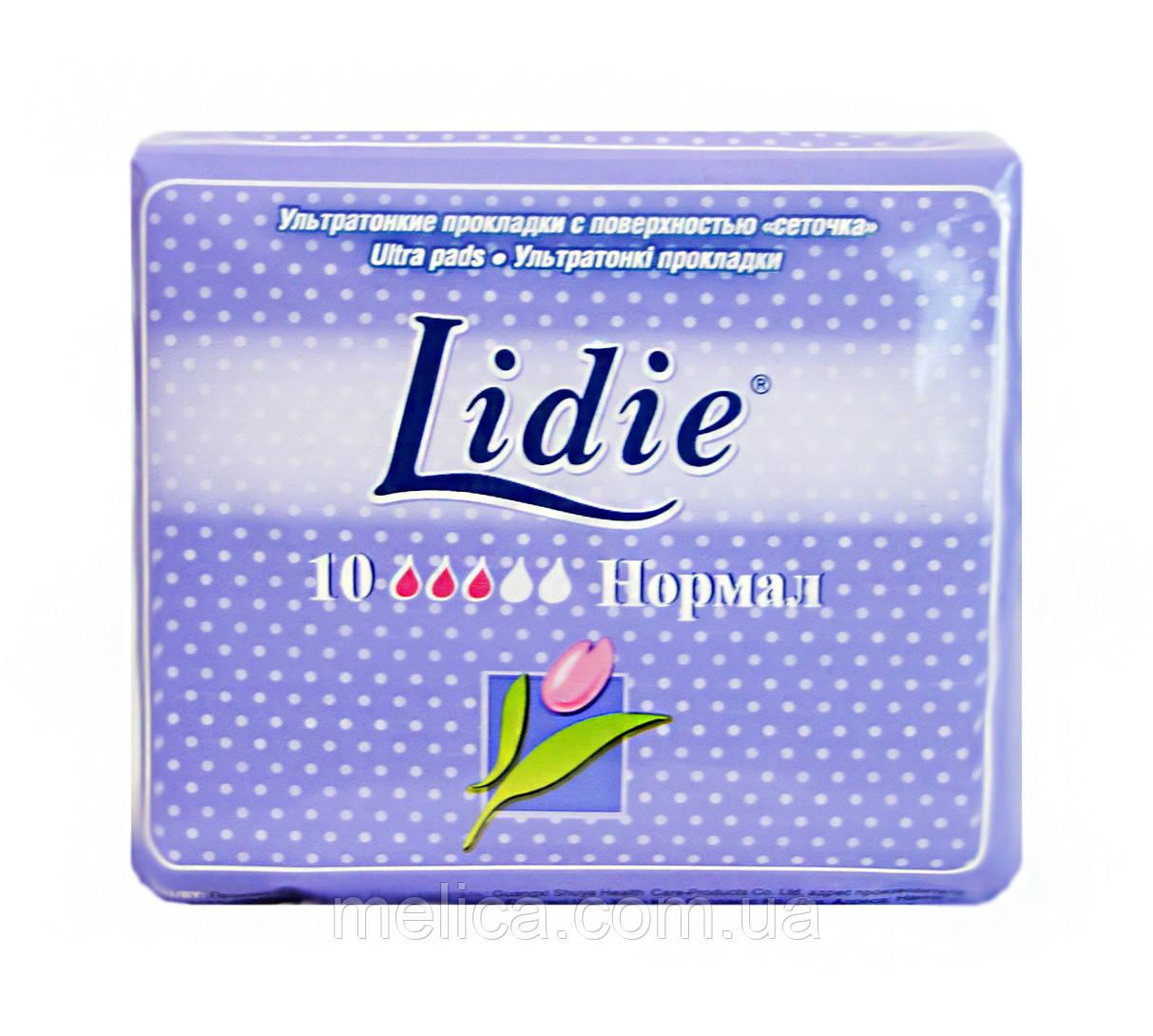 Гігієнічні прокладки Lidie Ultra Normal (3 к.) - 10 шт.
