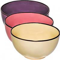 Набор 6 мисок Coloured Ceramics 660мл