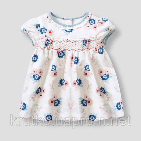 Платье для девочки Незабудки Jumping Beans, фото 2