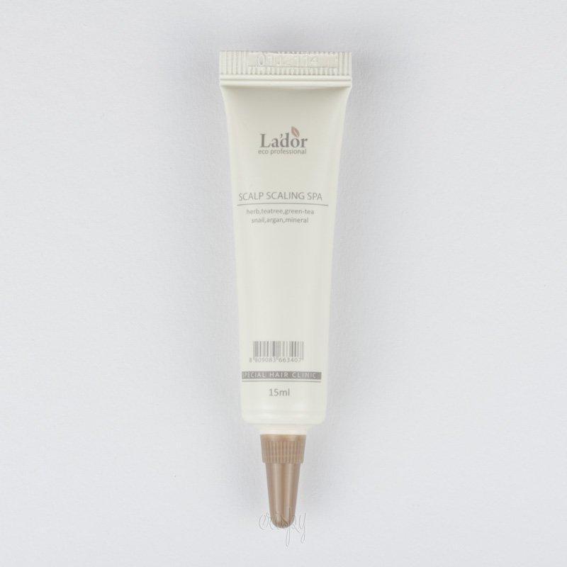 Очищение кожи головы в ампулах LADOR Scalp Scaling Spa Ample