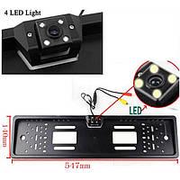 Камера заднего/переднего вида в рамке номерного знака iDial ЕТ-685/S