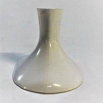 Каблук женский пластиковый 5014 белый р.1,3  h-5,2 , 5,6см., фото 3