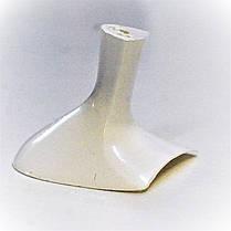 Каблук женский пластиковый 5014 белый р.1,3  h-5,2 , 5,6см., фото 2