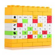 Вічний Календар LEGO Yellow (123801)