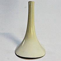 Каблук женский пластиковый 7002 молочный р.1-3  h-8,7-9,4 см., фото 2