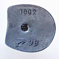 Каблук женский пластиковый 7002 молочный р.1-3  h-8,7-9,4 см., фото 3