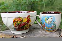 Детский набор посуды из керамики  оптом