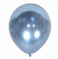 Латексные шары Kalisan Турция 64 хром голубой 12'' (30 см), 50 шт