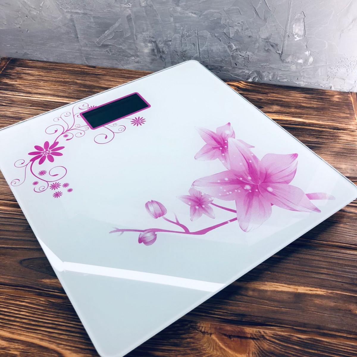 Весы напольные Domotec MS-1604 Белые