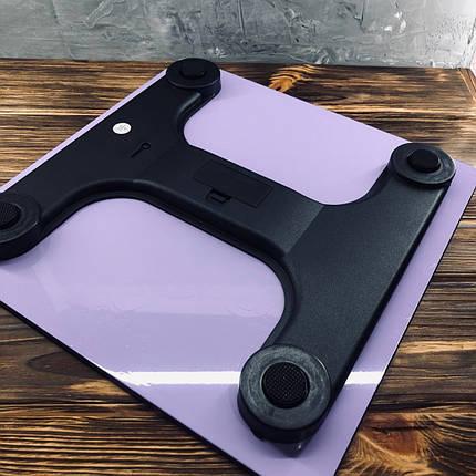 Весы напольные Domotec MS-1604 Фиолетовые, фото 2