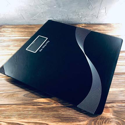 Весы напольные Domotec MS-1604 Черные, фото 2