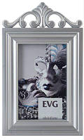 Фоторамка, (13х18см), серебряная, EVG