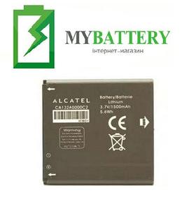 АКБ оригинал Alcatel 5036D/ 997/ 997D/ 5030/ 5035D/ 5035E/ 5035Y/ 5036/ 5036A/ 5036X (TLiB5AF)