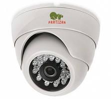 Цветная купольная камера с подсветкой PARTIZAN AHD-223S-IR Metal V3.0