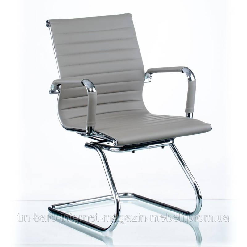 Кресло Solano (Солано) office artleather grey (E5883) серый, Special4You (Бесплатная доставка)