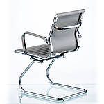 Кресло Solano (Солано) office artleather grey (E5883) серый, Special4You (Бесплатная доставка), фото 4