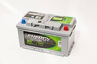 Акумуляторна батарея ENERGY 6СТ-80 (0)