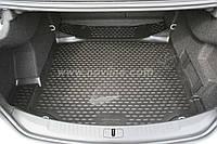Коврик в багажник CHEVROLET MALIBU с 2012- цвет:черный (производитель NovLine)