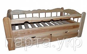 Деревянная кровать СОН (ясень, дуб)