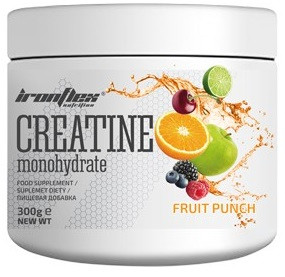 Креатин IronFlex - Creatine (300 грамм) fruit punch/фруктовый пунш