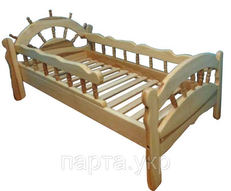 Кровать Капитан из ясеня