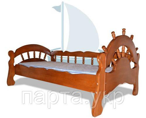 """Кровать """"Капитан"""" тонированная"""