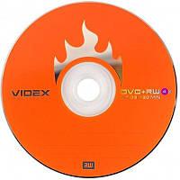 Диск DVD+RW, 4,7Gb, 4х, Videx